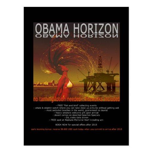 OBAMA HORIZON POSTCARDS