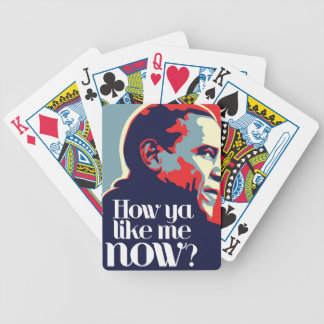 Obama: How Ya Like Me Now Bicycle Playing Cards