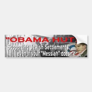 """Obama Huts"" Bumper Sticker"