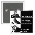 "Obama-""I Am Not A Dictator"" Button"