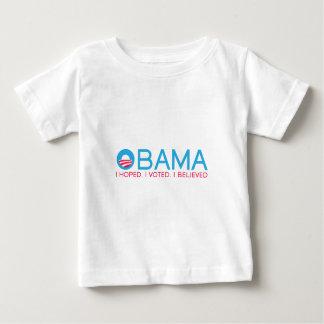 OBAMA-I-BELIEVE BABY T-Shirt