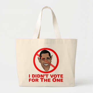 Obama: I didn't vote for The One Tote Bags