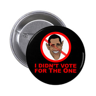 Obama: I didn't vote for The One Pin