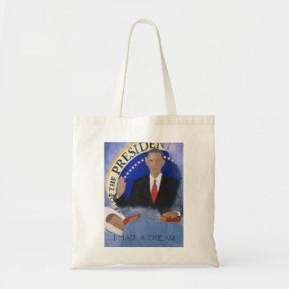 Obama: I Had A Dream Budget Tote Bag