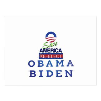 obama i love postcard