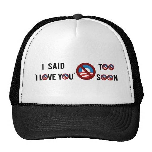I love you too soon