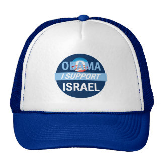 Obama I Support Israel Hat