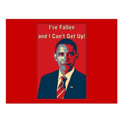 Obama I tiene producto caido Postal