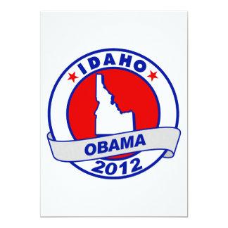 Obama - Idaho 5x7 Paper Invitation Card