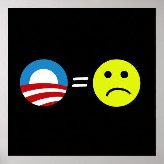 Obama iguala el poster de los ceños fruncidos