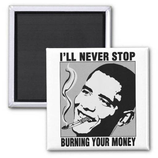 Obama: I'll Never Stop Magnet