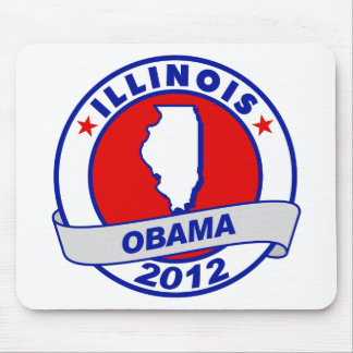 Obama - Illinois Mouse Pad