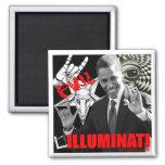 Obama - Illuminati Fridge Magnet