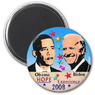 Obama/imán de Biden Imán Redondo 5 Cm