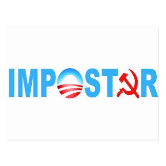 Obama Impostor Postcard