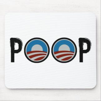 ¡Obama = IMPULSO! Alfombrillas De Ratones
