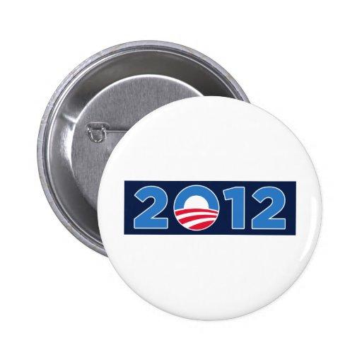 Obama in 2012 2 inch round button