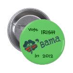 O'bama in 2012 Button