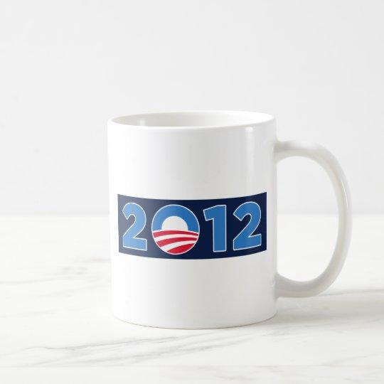 Obama in 2012 coffee mug