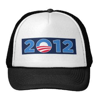 Obama in 2012 trucker hat