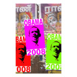 Obama in india stationery paper