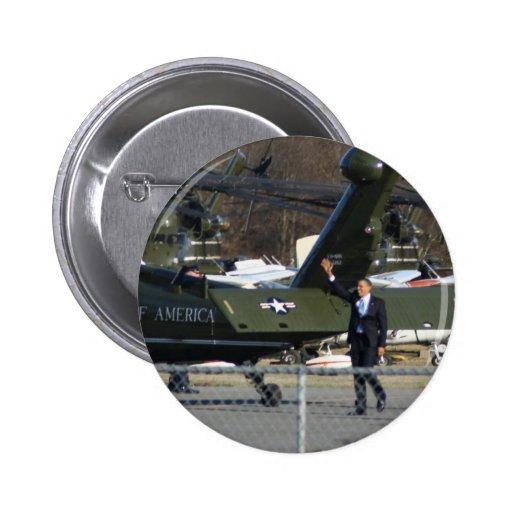 Obama in Marlborough Button