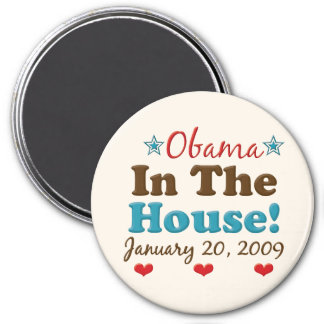Obama In The House Magnet