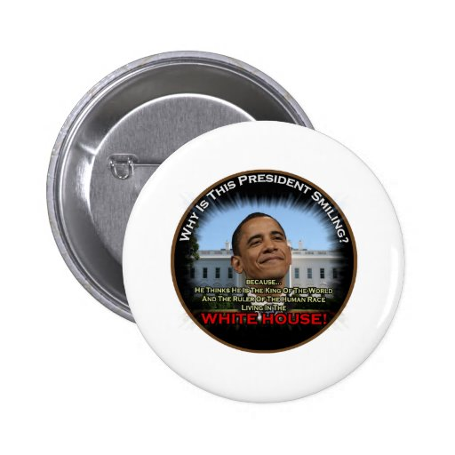 Obama in the Whitehouse 2 Inch Round Button