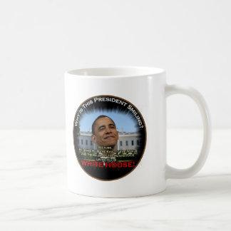 Obama in the Whitehouse Coffee Mug
