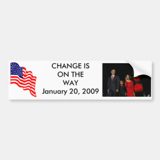 OBAMA - Inaguration Bumper Sticker