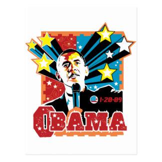 Obama Inaugration Tees and Gifts Postcard