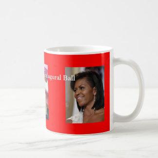 Obama inaugural ball classic white coffee mug