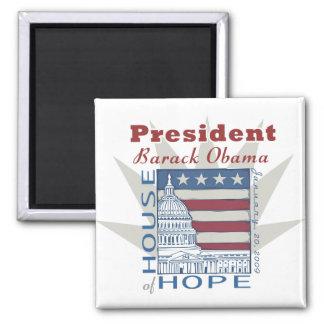 Obama Inaugural Memorabilia Magnet