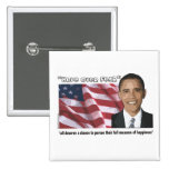 Obama Inaugural Quote Souvenirs Buttons