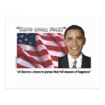 Obama Inaugural Quote Souvenirs Post Cards