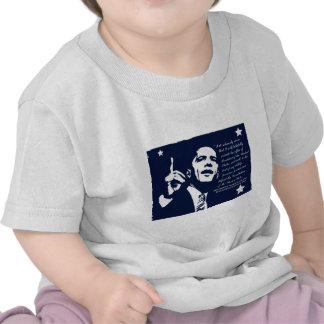 Obama Inaugural Speech Tee Shirts