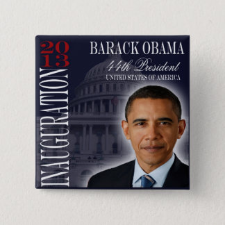 Obama Inauguration 2013 Button
