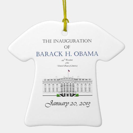 Obama Inauguration 2013 Ceramic Ornament