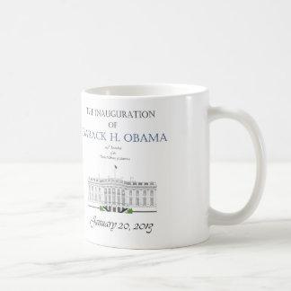 Obama Inauguration 2013 Classic White Coffee Mug