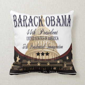 Obama Inauguration 2013 Commemorative Pillow