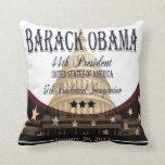 Obama Inauguration 2013 Commemorative Pillow