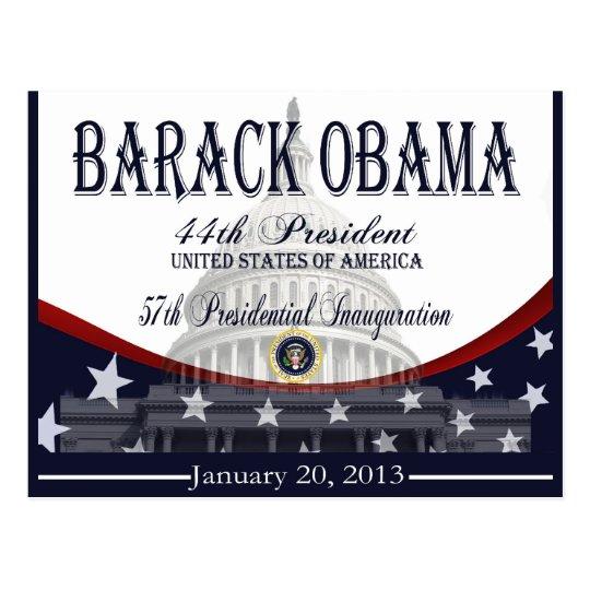 Obama Inauguration 2013 Commemorative Post Cards
