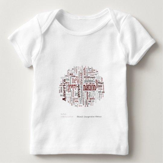 Obama Inauguration Address Baby T-Shirt