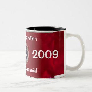 Obama Inauguration Bicentennial Two-Tone Coffee Mug