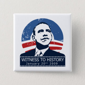 Obama Inauguration Button
