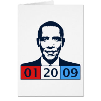 Obama Inauguration Greeting Cards