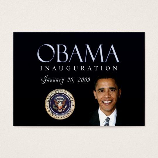 Obama Inauguration cards