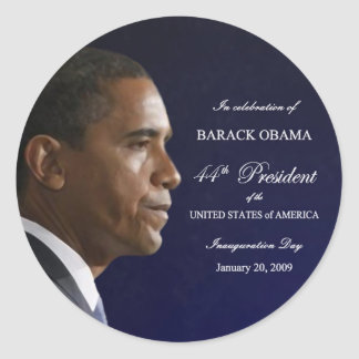 Obama Inauguration Celebration Stickers