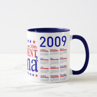 Obama Inauguration - Collector's Mug with Calendar