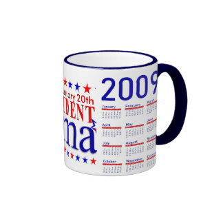 Obama Inauguration - Collector's Mug with Calendar